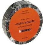 KIT - NASTRO ISOLANTE 19MM 25M NERO