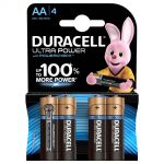 BATTERIA DURACELL ULTRA POWER AA BISTER 4