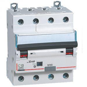 BTDIN45 - MAGN DIF AC 4P 10A 4,5KA 30MA 4 M