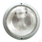 PLAFONIERA IP44 E27 230V S/LAMP. BIANCO