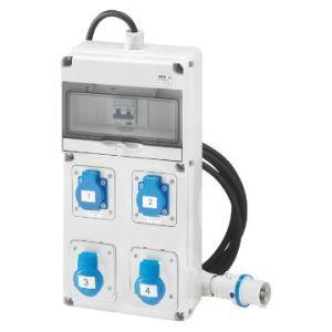 Q-DIN 10 ASC:2PR.IEC309,2PR.CIV.MOBILE