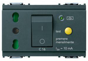 PRESA 2P+T 16A P17/11 INTB+MTDIFF C16 G