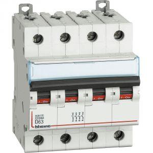 BTDIN100 - MAGNETOT 4P CURVA D 63A 10KA