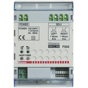 SCS - AMPLIFICATORE 4 DIN