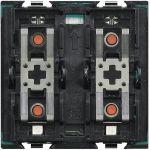 SCS-AMPLIFICATORE DA INCASSO 2 MODULI MATIX