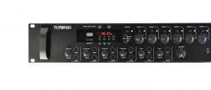 AMPLI 6 ZONE FM USB 350W 100V NERO