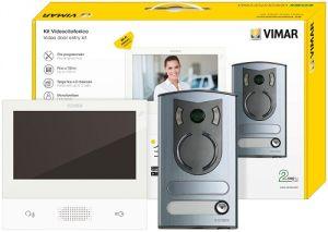 KIT VIDEOCITOFONICO M/BIF.TAB7 B.CO+13F2