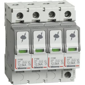 BTDIN - SPD T1+T2 12,5KA 4P