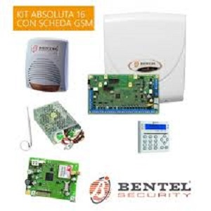 KIT ABSOLUTA BASIC CON CENTRALE ABS16