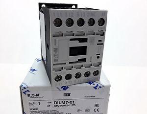 DILM7-01(24VDC) CONT POT 3KW 1NC