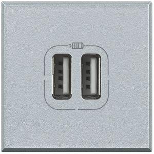 AXOLUTE - CARICATORE USB 2P 1500MA 5V TECH