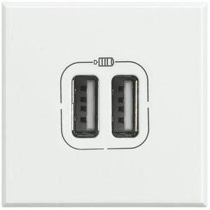 AXOLUTE - CARICATORE USB 2P 1500MA 5V BIAN