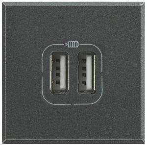 AXOLUTE - CARICATORE USB 2P 1500MA 5V ANT