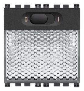 LAMPADA SEGNAPASSO LED 230V GRIGIO