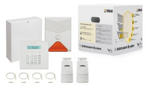 BY-ALARM KIT IMPIANTO BASE 24 ZONE 230V~