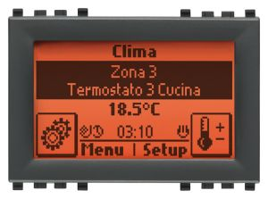 CENTRALE TOUCH SCREEN 3M GRIGIO