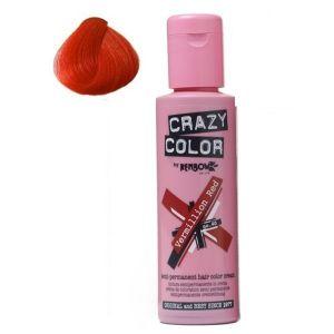 CRAZY COLOR Vermillion Red 100 ml