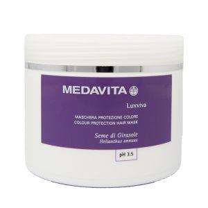 Medavita Luxviva Maschera protezione colore 500ml 16,9fl.oz