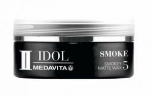 Medavita Idol Man Smoke smokey matte wax 50ml