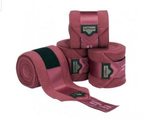 Loire Satin Polo bandages french rose