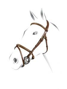 Briglia clincher ottone Equestro
