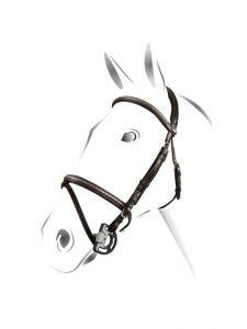 Briglie clincher silver Equestro