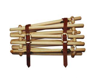 Collare c/stecche legno
