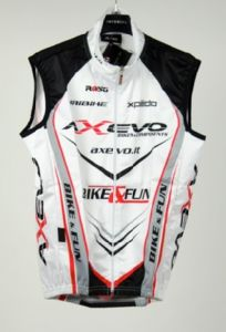 GILET SLEEVELESS WINDPROOF  - WHITE