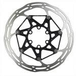 SRAM Disco a 6 fori Centerline 2P con spider in alluminio