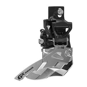 SRAM Deragliatore GX 2x10 HDM montaggio diretto alto Bottom Pull
