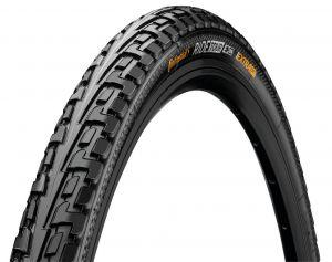"""CONTINENTAL Copertone Conti RideTour 28x1.75"""" nero con banda riflettente"""