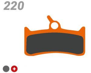 TRICKSTUFF PASTIGLIA BB 220 PER FRENI TRICKSTUFF/SHIMANO/GRIMECA/HOPE