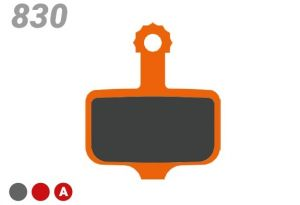 TRICKSTUFF BRAKE PADS BB 830 FOR TRICKSTUFF, CAMPAGNOLO, SRAM/AVID DISC BRAKE