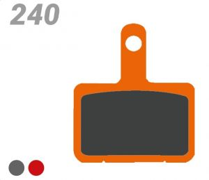 TRICKSTUFF PASTIGLIA BB 240 PER FRENI SHIMANO, TEKTRO/TRP