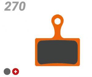 TRICKSTUFF PASTIGLIA BB 270 PER FRENI SHIMANO, TEKTRO/TRP