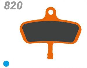 TRICKSTUFF PASTIGLIA BB 820 PER FRENI SRAM/AVID CODE (FINO 2010)