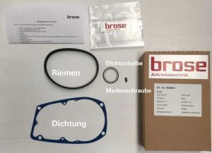 BROSE MOTOR BELT SERVICE KIT  T and S (ALU)