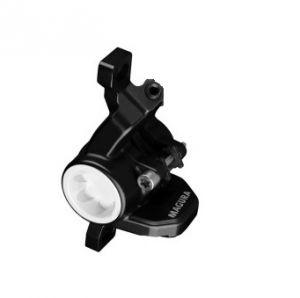 MAGURA Brake caliper MT4 black, monoblock, cap white - 2013