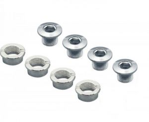 STRONGLIGHT CHAINRINGS BOLT KIT (STEEL - 4PCS)