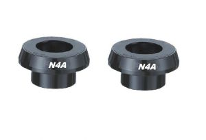 N4A PF30 ADAPTER FOR SHIMANO CRANK 24mm - RED ANODIZED