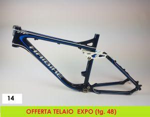 AXEVO-HAIBIKE TELAIO Q FS RX AL  tg 48 (14 - EXPO)