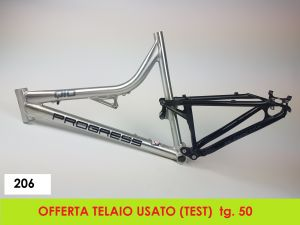 AXEVO-PROGRESS TELAIO FULL SUSP  tg 50 (206 - USATO)