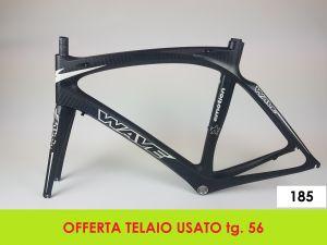 AXEVO TELAIO STRADA WAVE CARBON tg. 56 (USATO - 185)