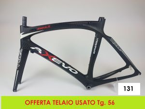 AXEVO TELAIO STRADA WAVE CARBON tg. 56 (USATO - 131)