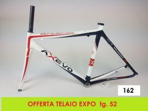 AXEVO  TELAIO STRADA RD TEAM tg. 52 (EXPO - 162)