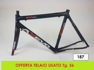 AXEVO  TELAIO STRADA RD TEAM tg. 56 (USATO - 187)
