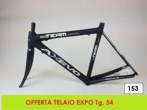 AXEVO  TELAIO STRADA RD TEAM tg. 54 (EXPO - 153)