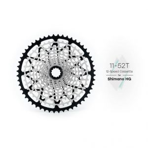 GARBARUK CASSETTe 12V  11-52T for SHIMANO HG freewheels