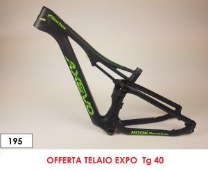 AXEVO FULL SUSPENDED  HOOK MX CARBON FRAME size  40 (195)