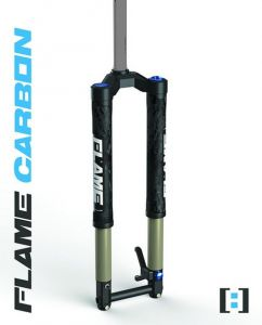 GERMAN ANSWER UPSIDE-DOWN FORK FLAME CARBON 29''- 27.5+ 100mm